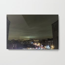 Untitled Inwood Long Exposure  Metal Print