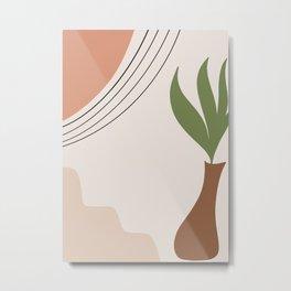 Tropical Minimal Abstract #1 #wall #decor #art society6 Metal Print