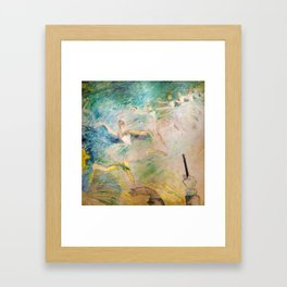 """Henri de Toulouse-Lautrec """"Ballet dancers"""" Framed Art Print"""