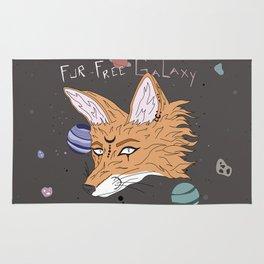 Fur-Free Galaxy Rug