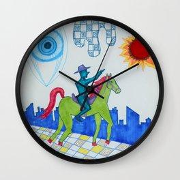 Lone Quixote Wall Clock