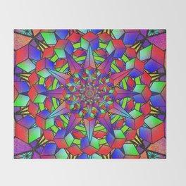 Cubepuscular Throw Blanket