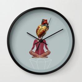Hola Corazón Wall Clock