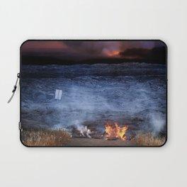 Kilauea Volcano Lava Flow. Laptop Sleeve
