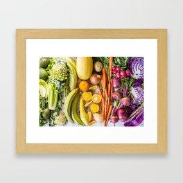 Eat the Rainbow Framed Art Print