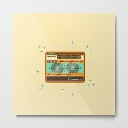 Walkman vector illustration Metal Print