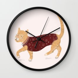 New Outfit Wall Clock