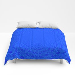 Electric Blue Comforters