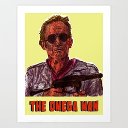 The Omega Man Art Print