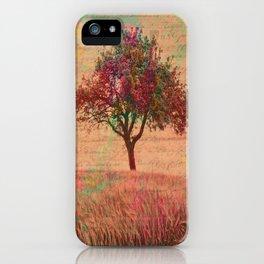 The Kissing Tree, Landscape Art iPhone Case