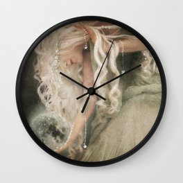 Sister Moon Wall Clock