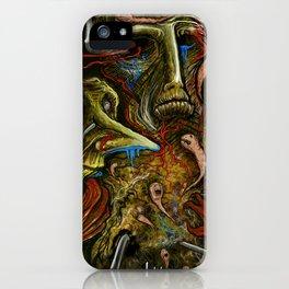 """""""Swim Through Life"""" iPhone Case"""