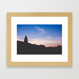 Sunset Gaeta II, Italy Framed Art Print