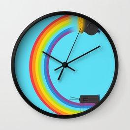 Rainbow - Origin Wall Clock