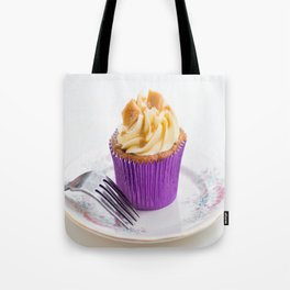 Banoffee Cupcake Tote Bag