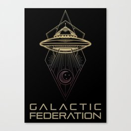 Galactic Federation of Light Canvas Print