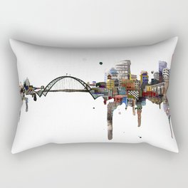Fremont Bridge Rectangular Pillow