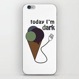 gelatoUsb - today i'm DARK iPhone Skin