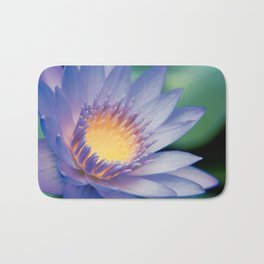 He makana nau Ke Aloha - Nymphaea stellata  - Star Lotus Bath Mat