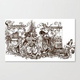 'Pseudologie' Canvas Print