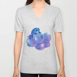 Blueberry poison yogurt 1 Unisex V-Neck