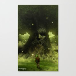 Test thy courage Canvas Print