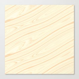 Basswood Surface Texture Canvas Print
