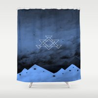 illusion Shower Curtains featuring Illusion by Mountain View Art