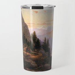 Sugar Loaf Peak El Dorado County 1865 By Thomas Hill   Reproduction Travel Mug