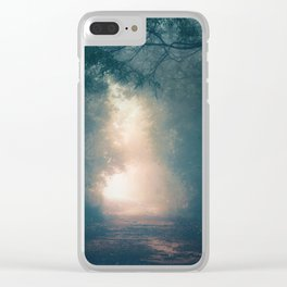 Into the Light II Clear iPhone Case