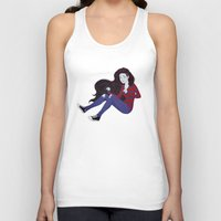 marceline Tank Tops featuring Marceline by ribkaDory