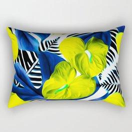 Anthurium yellow Rectangular Pillow