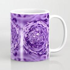 Purple Swirl Topography Mug