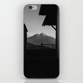 Window to the Mountains iPhone Skin