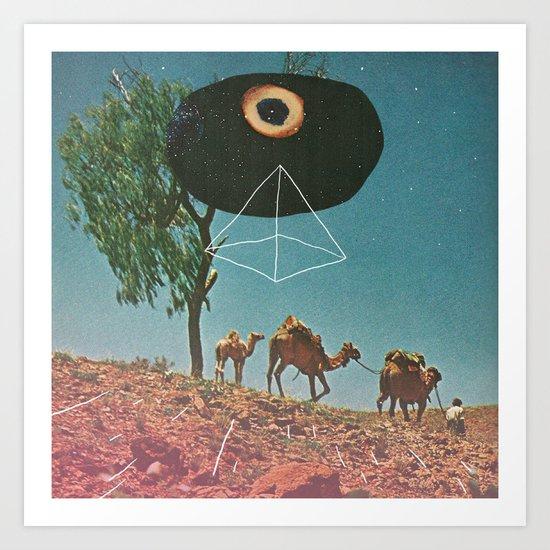 Desert Guide Art Print