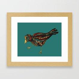Mechanical Bird Framed Art Print