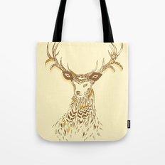 Tribal Deer Tote Bag