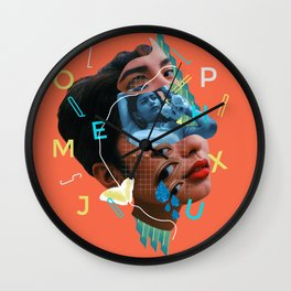 The Mask I Live In Wall Clock