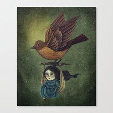 Midnight Travel Canvas Print