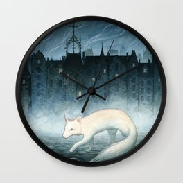 Boundary Walker Wall Clock