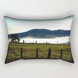 Low lying Fog Rectangular Pillow