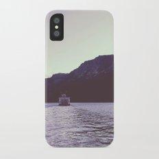 Sternwheeler on Lake Tahoe iPhone X Slim Case