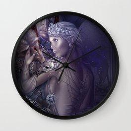 Wolf Queen Wall Clock