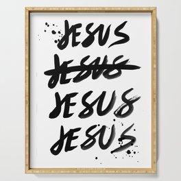 #JESUS2019 - Jesus black Serving Tray