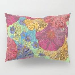 The Parting of the Poppies Pillow Sham