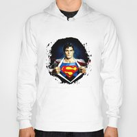 superman Hoodies featuring Superman by DavinciArt