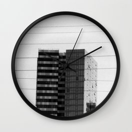 Crosswires Wall Clock