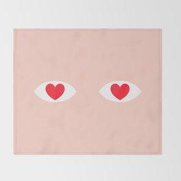 EYES 4 U ONLY Throw Blanket