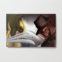 In Your Dreams Bub! Metal Print