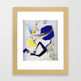 Prince Charming. Framed Art Print